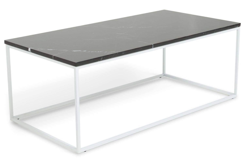 Vi Tilbyder Sofaborde Og Produkterne Carrie Sofabord Sort Marmor/hvid Til 2  095 Kr.