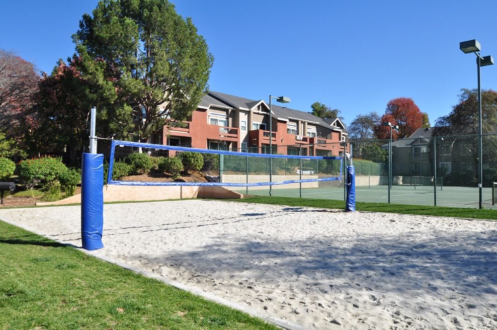 Play a round of beach volleyball at your new home, Canyon Club ...
