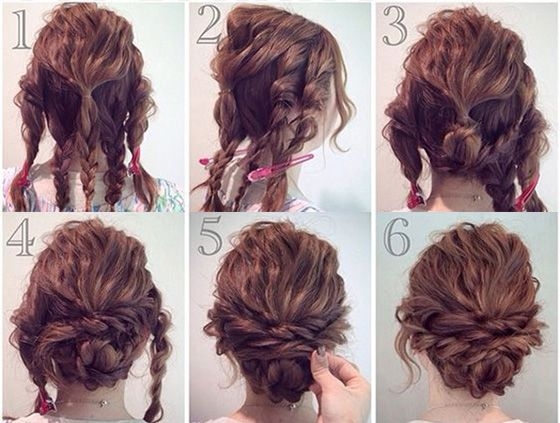 16 Amazing Tips And Tricks For Girls With Curly Hair Curly Girl Hairstyles Prom Hair Updo Curly Hair Updo