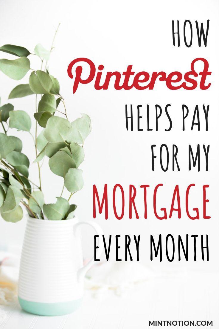 Wie man mit Pinterest Geld verdient. Erfahren Sie, wie Pinterest bei der Bezahlung meiner Hypothek hilft.   – Make Money Tips