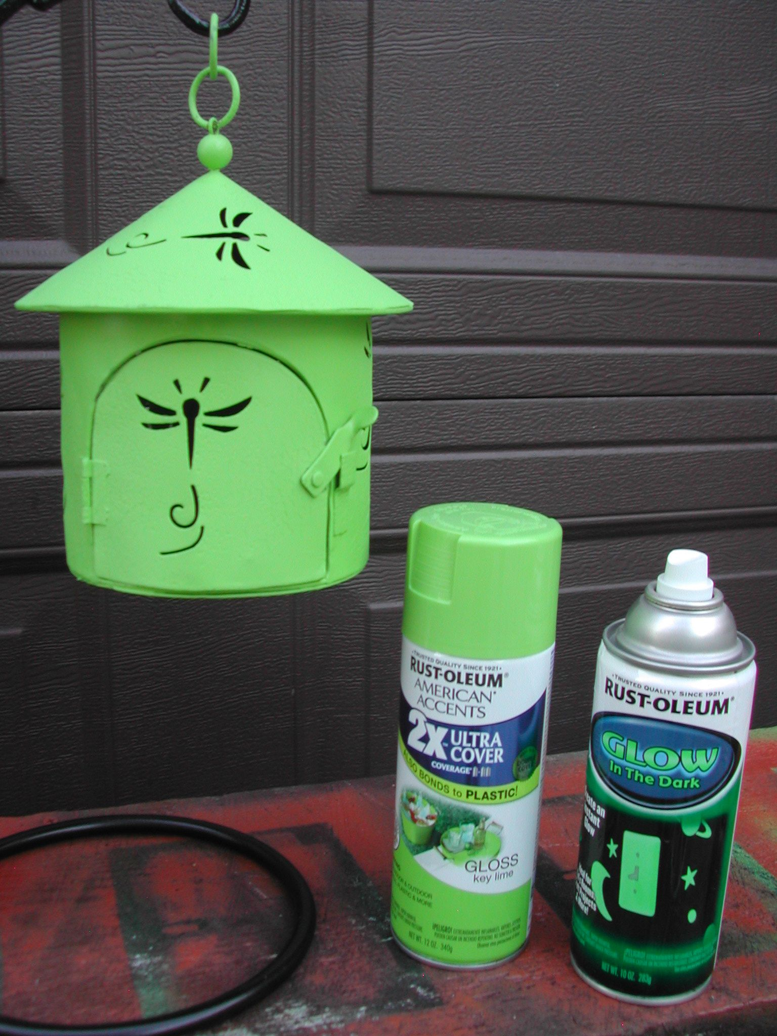 Awesome Rust Oleum Glow In The Dark Will Work, But You Have To Paint First