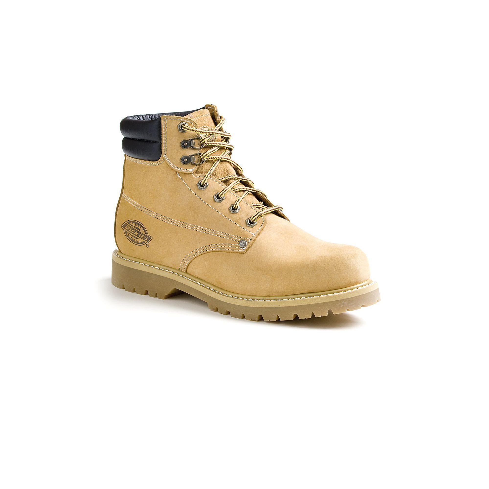 71662922e1 Dickies Raider Men's Steel-Toe Work Boots, Size: medium (10.5), Beig/Green  (Beig/Khaki), Durable