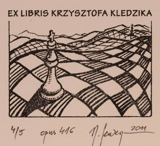 Art-exlibris.net - exlibris by Malgorzaty Seweryn for Krzysztofa Kledzika