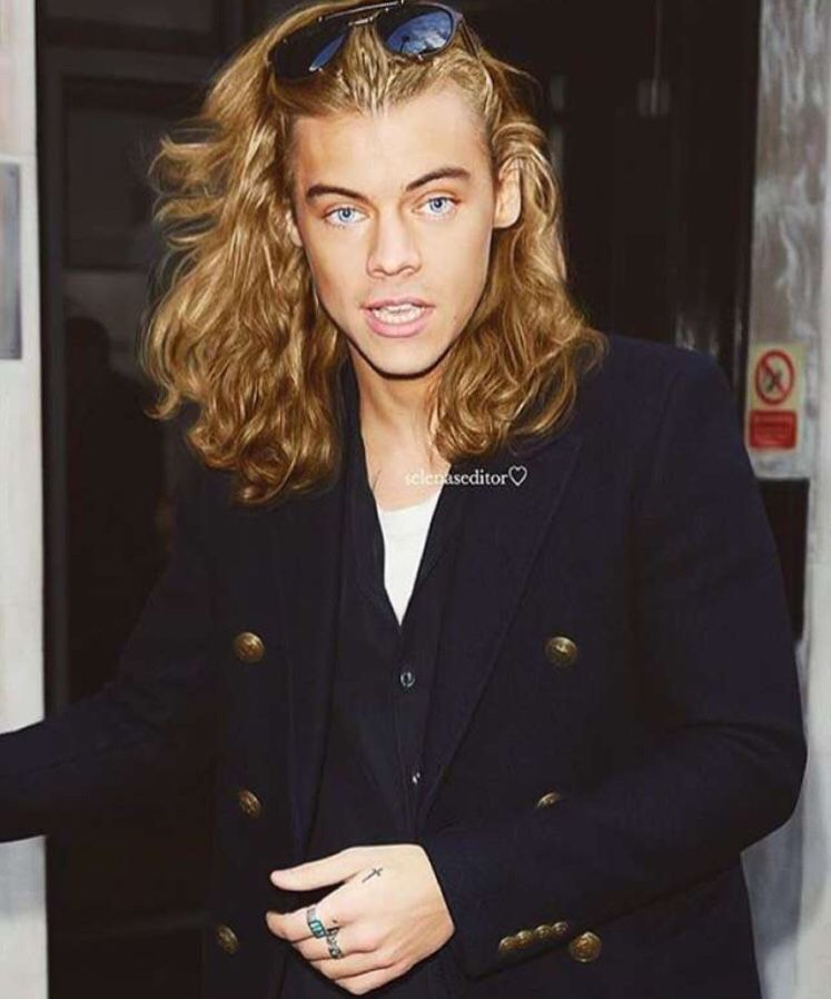 Harry With Blonde Hair Style Harry Styles Harry Styles Edits