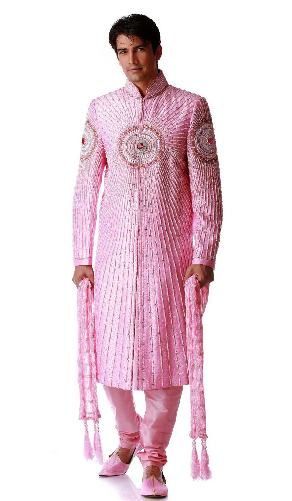 Loud & different: pink Sherwani | Wedding Sherwani | Pinterest