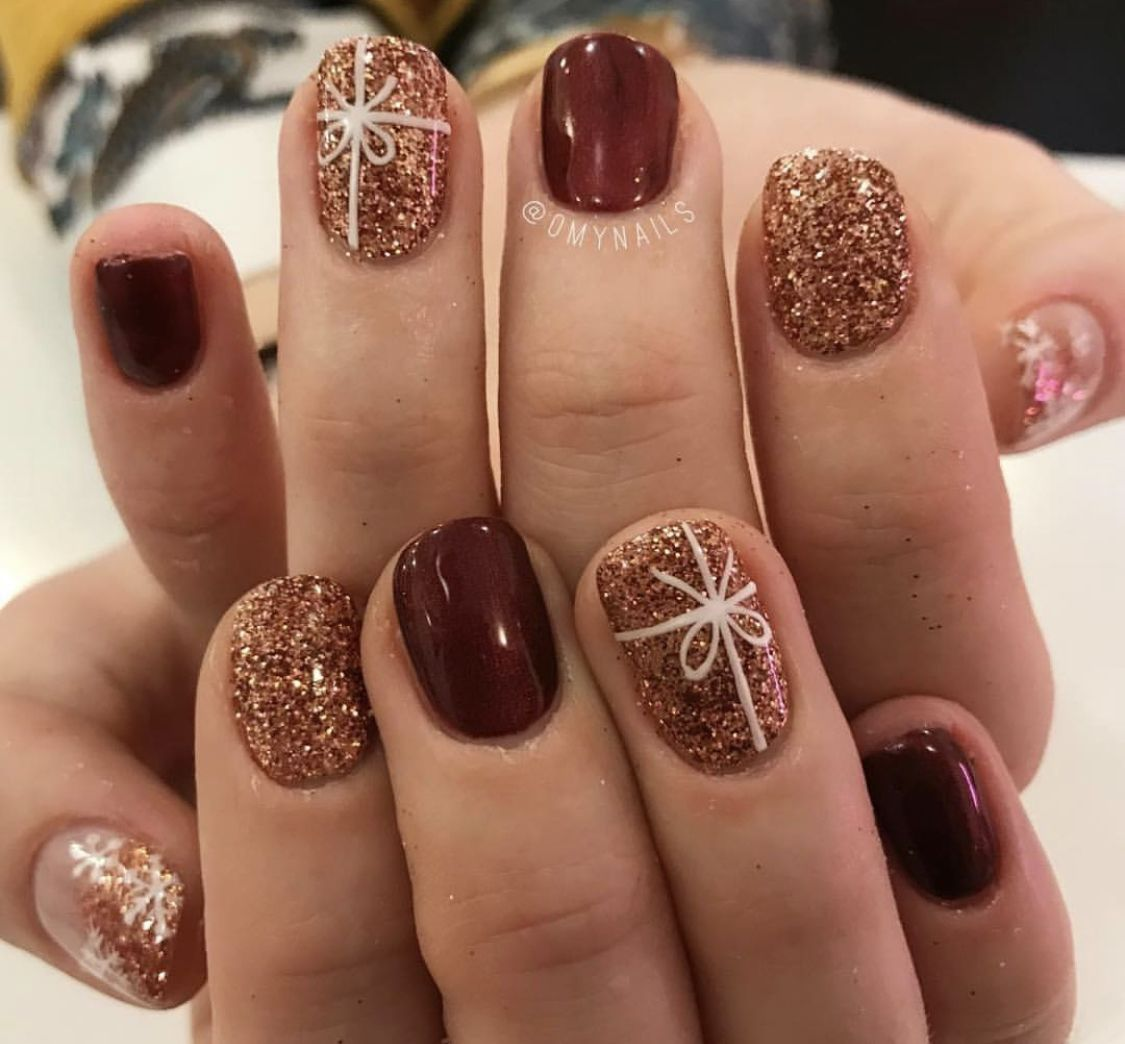 Gel Nails For Christmas 2019: Pin By Jessika Serrano On Nails