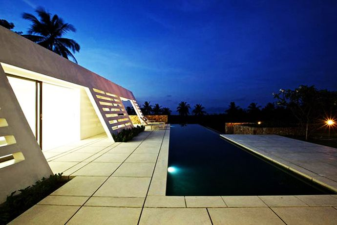Elegant Cool In Every Sense Of The Word: Aqualina Residence, Thailand Nice Look