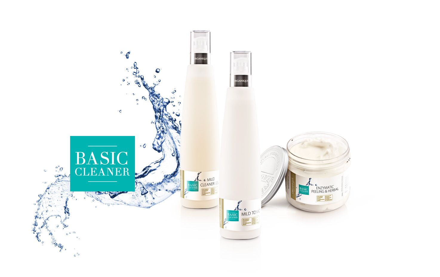 ORGANIQUE Packaging - Basic Cleaner & Dermo Expert