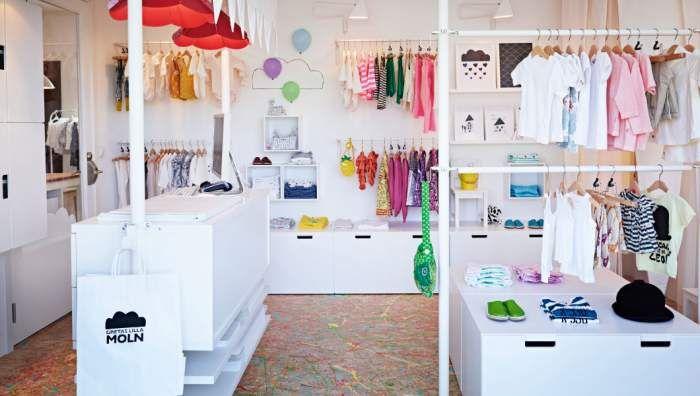Muebles para tiendas de ropa de Ikea Business  tiendas ...