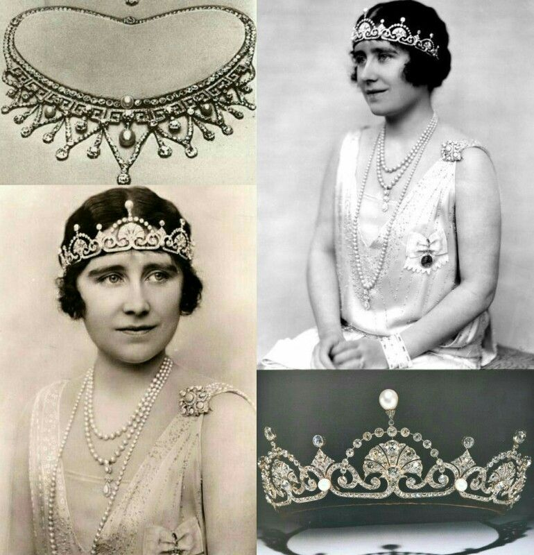 Lotus Flower Tiara Version Original Actual Lady Elizabeth Bowes Lyon Reina Del Reino Unido De Gran Bretana Royalty Clothing Royal Weddings Royal Jewels