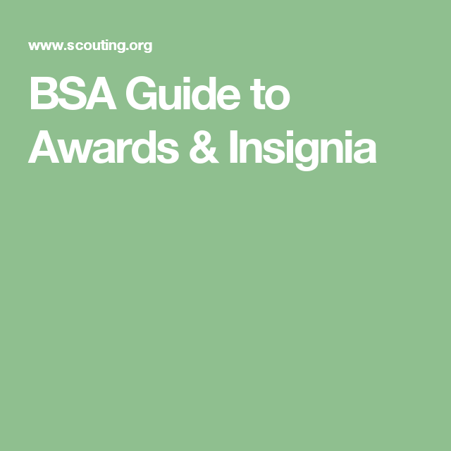 bsa guide to awards insignia cub scouts pinterest pdf rh pinterest com Cub Scout Leader Uniform Insignia bsa guide to awards and insignia pdf 2015