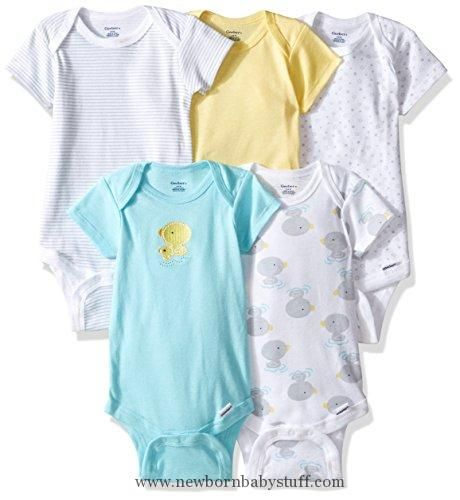 Baby Girl Clothes Gerber Baby 5 Pack Onesies New Duck 0 3 Months Cool Baby Clothes Baby Clothes Sale Baby Boy Outfits