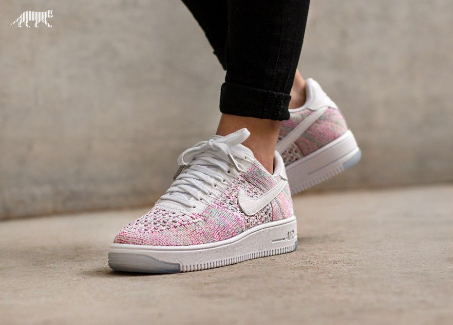 nike air force 1 flyknit white radiant emerald nz