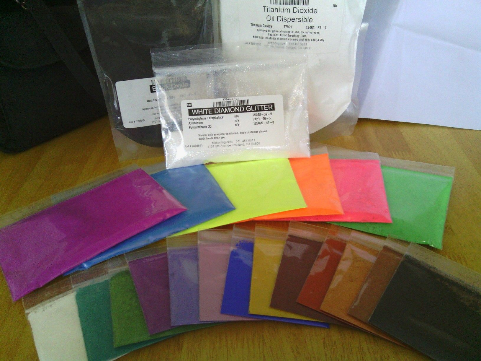 Cosmetic Pigments and Colorants from TKB Trading | Products