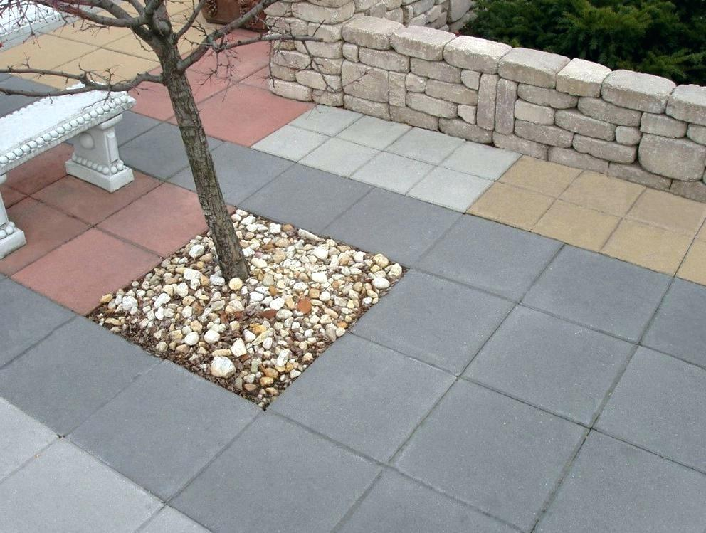 concrete pavers paver patio patio