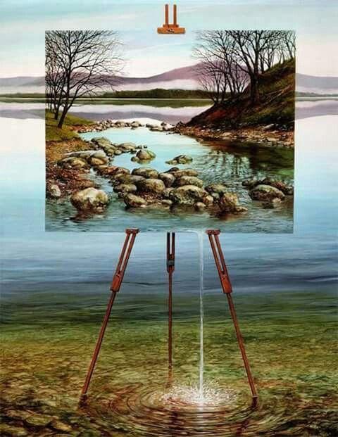 Pintura dentro de pintura