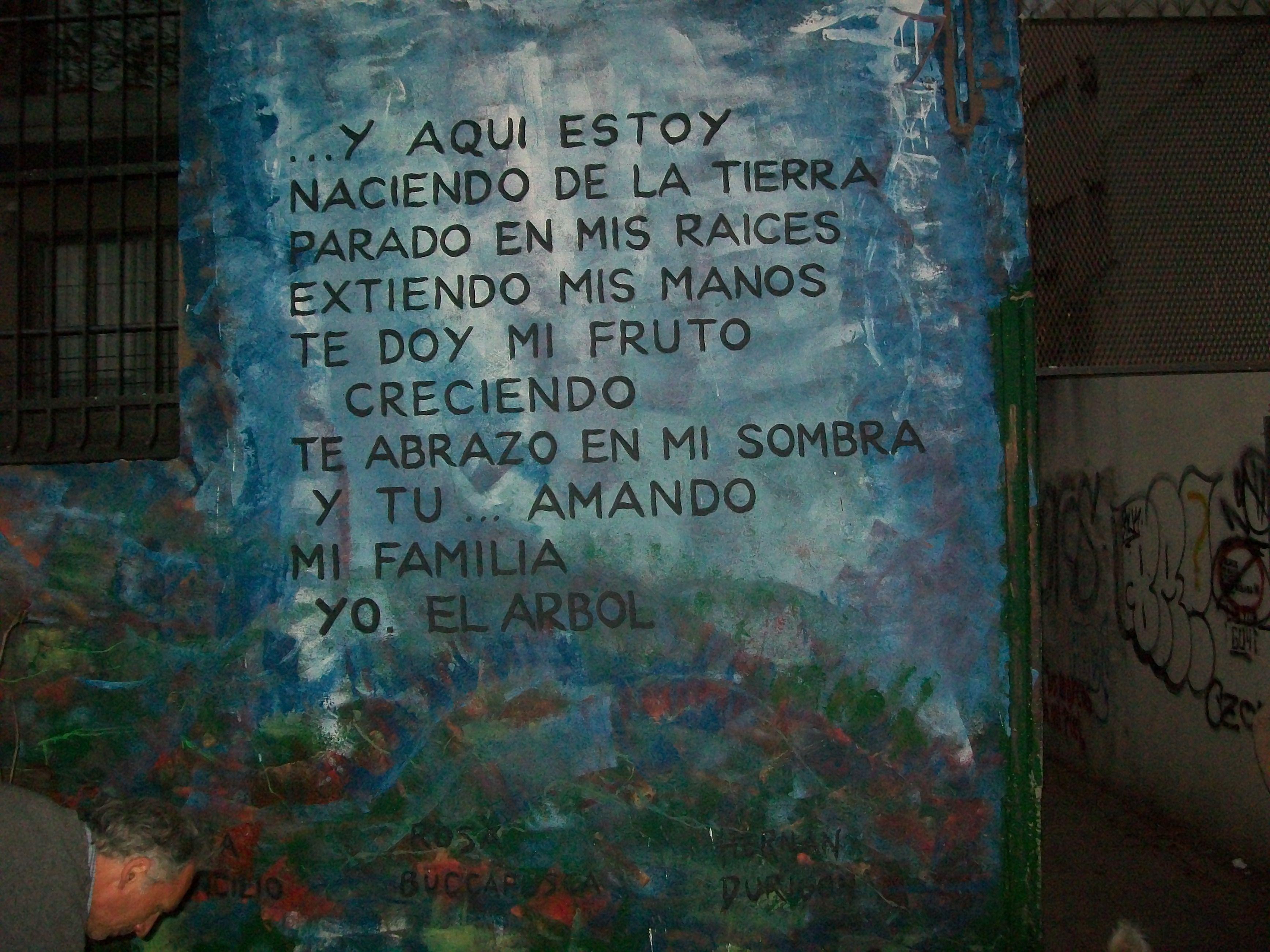mural en estacion Nuñez, Bs As. Argentina,...Hernan Durigon.