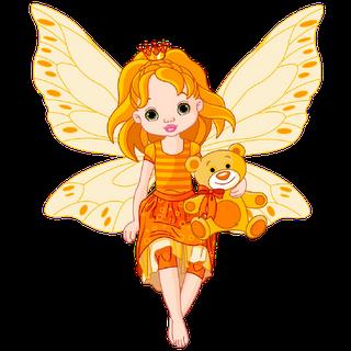Fairy baby. Babies art funny cartoon