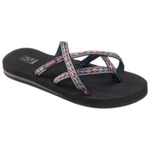 9de0003528ac0 Teva Olowahu Sandals for Ladies - Felicitas Black - 11M