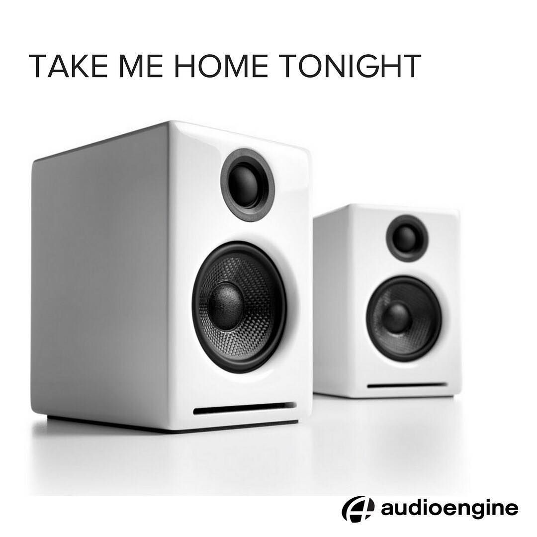 Audioengine A2 Best sound setup for your home! | Living Room & TV ...