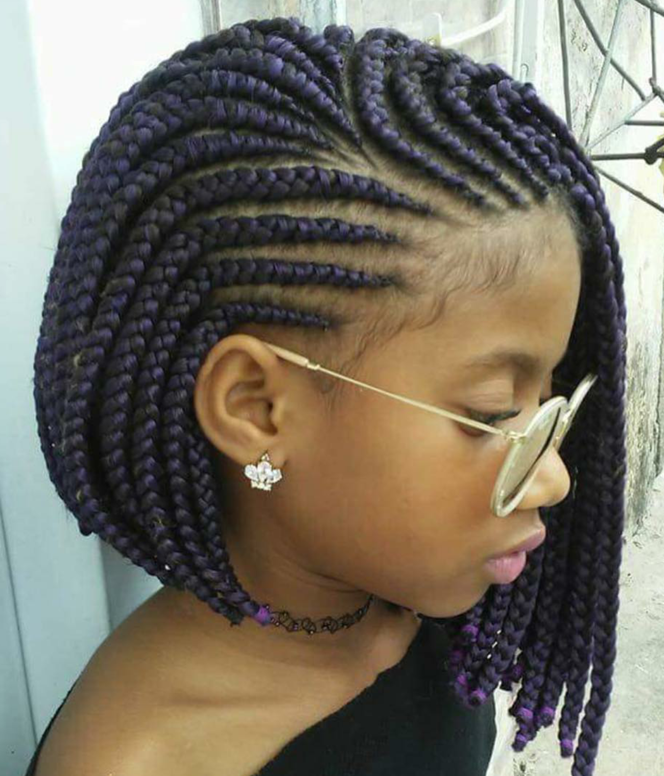 how to cut crochet braids into a bob
