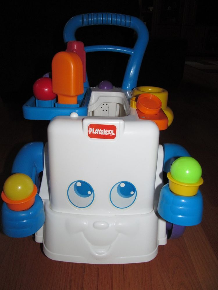 Playskool Musical Toys : Rare hard to find playskool musical ice cream cart toddler