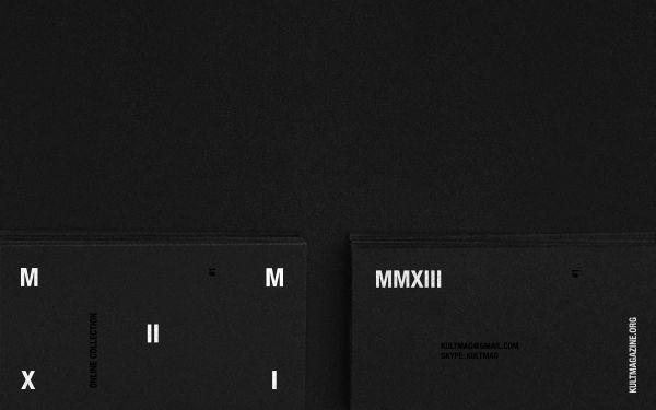 MMXIII by Bogdan Kociuba, via Behance