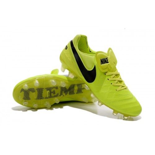 Buy Nike Tiempo Legend VI FG 2016 Fluorescein Yellow Black soccer cleats  from Nike at soccercleats77.com  nike  soccer 769e1d17aaf6