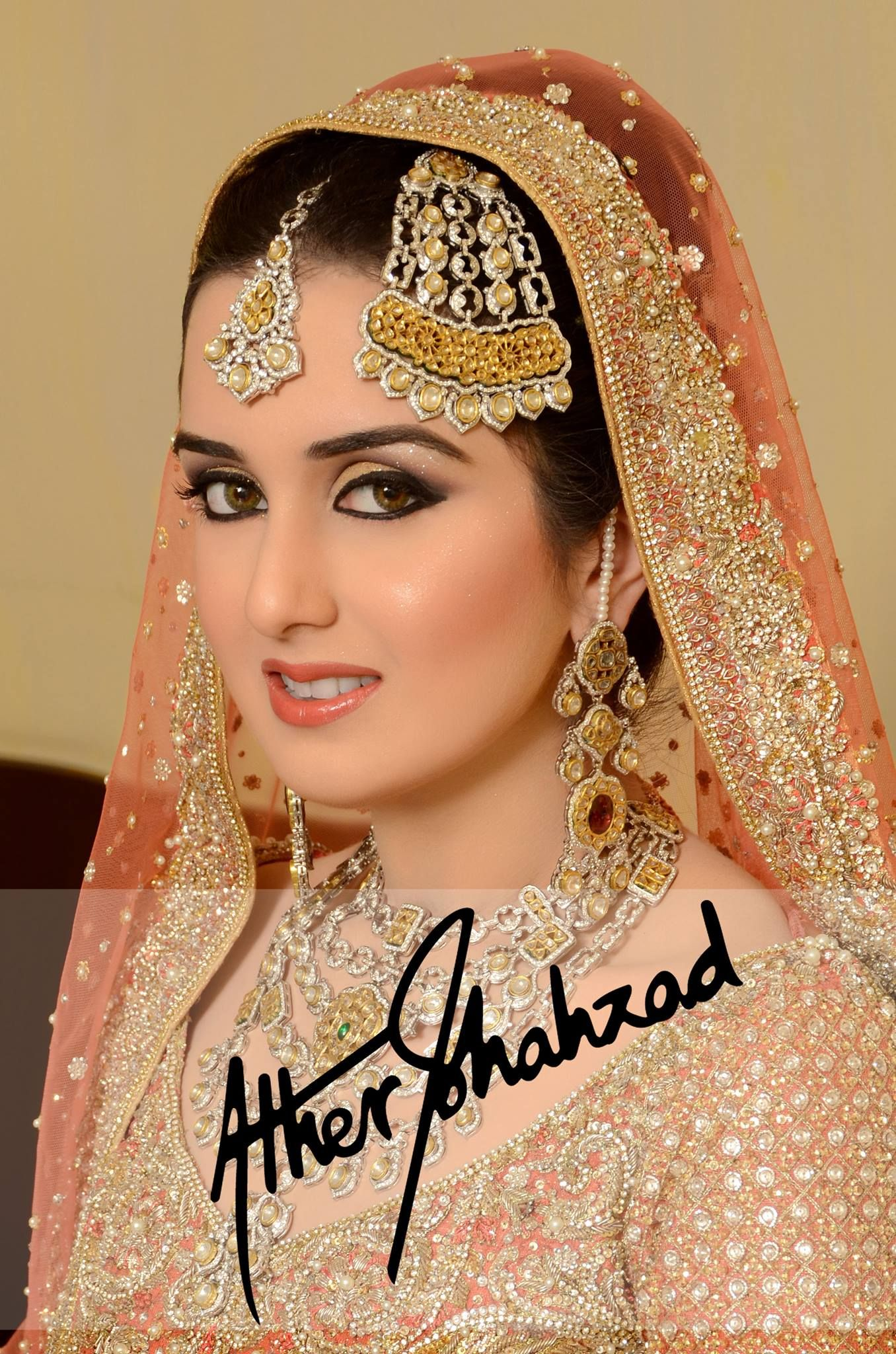 Makeup And Photography By Ather Shahzad Bridal Makeup Beautiful Bridals Dress Jewelry