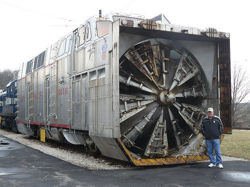 Railroad snow blower machine | Recent Photos The Commons Getty Collection Galleries World Map App ...