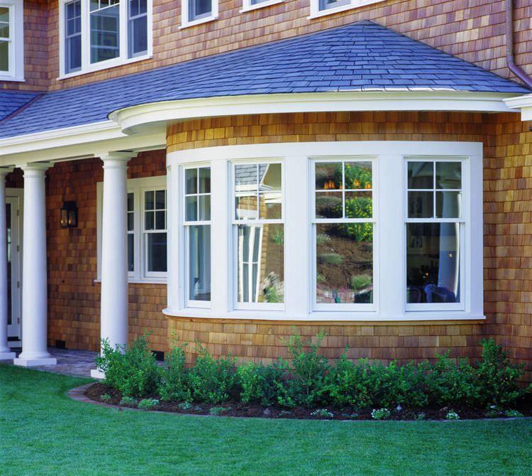 Fenêtre Battante / En Bois / Bow-Window Loewen | Bow Windows