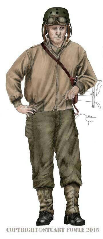 U.S. tank crew 1944/45, pin by Paolo Marzioli