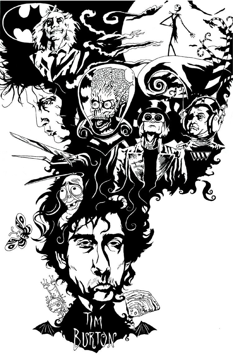 Pin by Jeanne Loves Horror💀🔪 on Tim Burton Movies in 2019