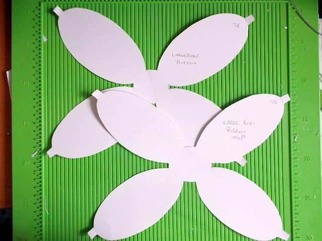 Template For Double Bow Card | Docrafts.Com | Wreaths; Swags; Bows