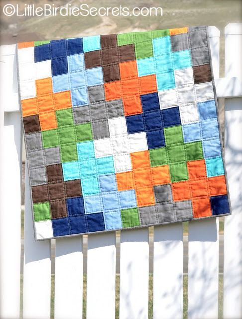 Free Plus Quilt Pattern Tutorial Little Birdie Secrets Baby