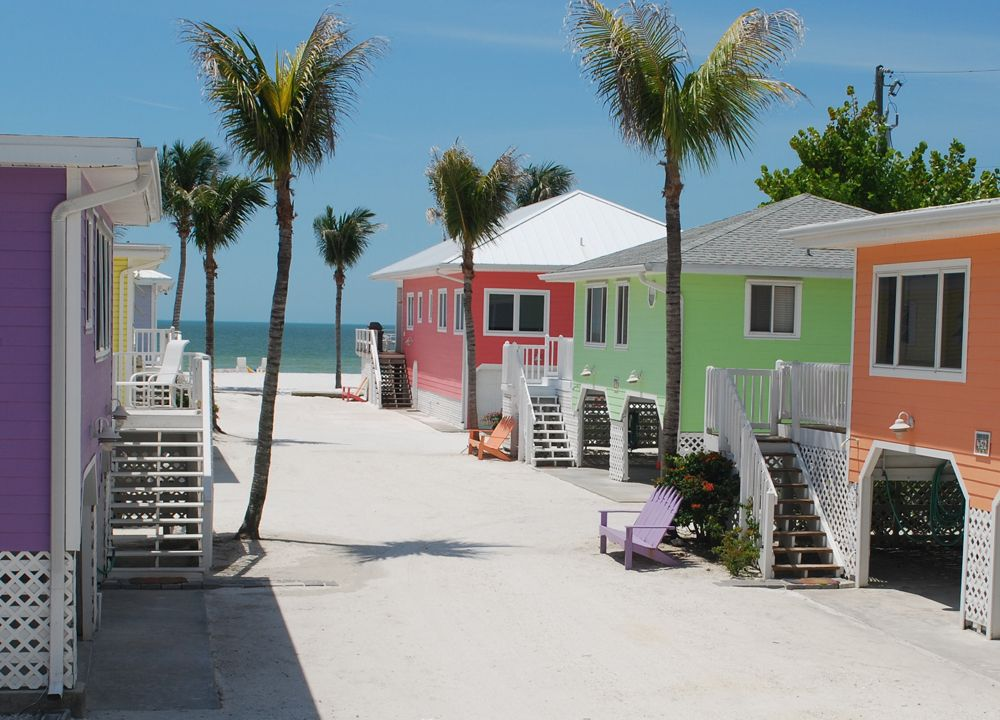 on the north end of estero island aka ft myers beach lies cottages rh pinterest com fort myers beach vacation rentals fort myers beach vacation rentals estero island