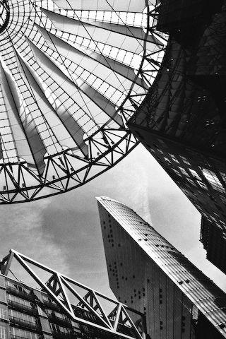Modern Architecture Black White Berlin Architecture Wallpaper