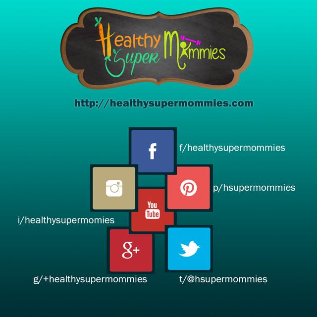Healthy Super Mommies, cerca de ti en tu red social favorita