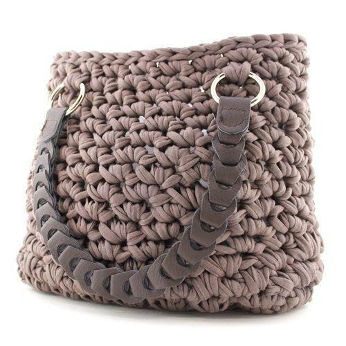 Häkeltasche - mit einfachem Häkelmuster | Crochet Patterns ...