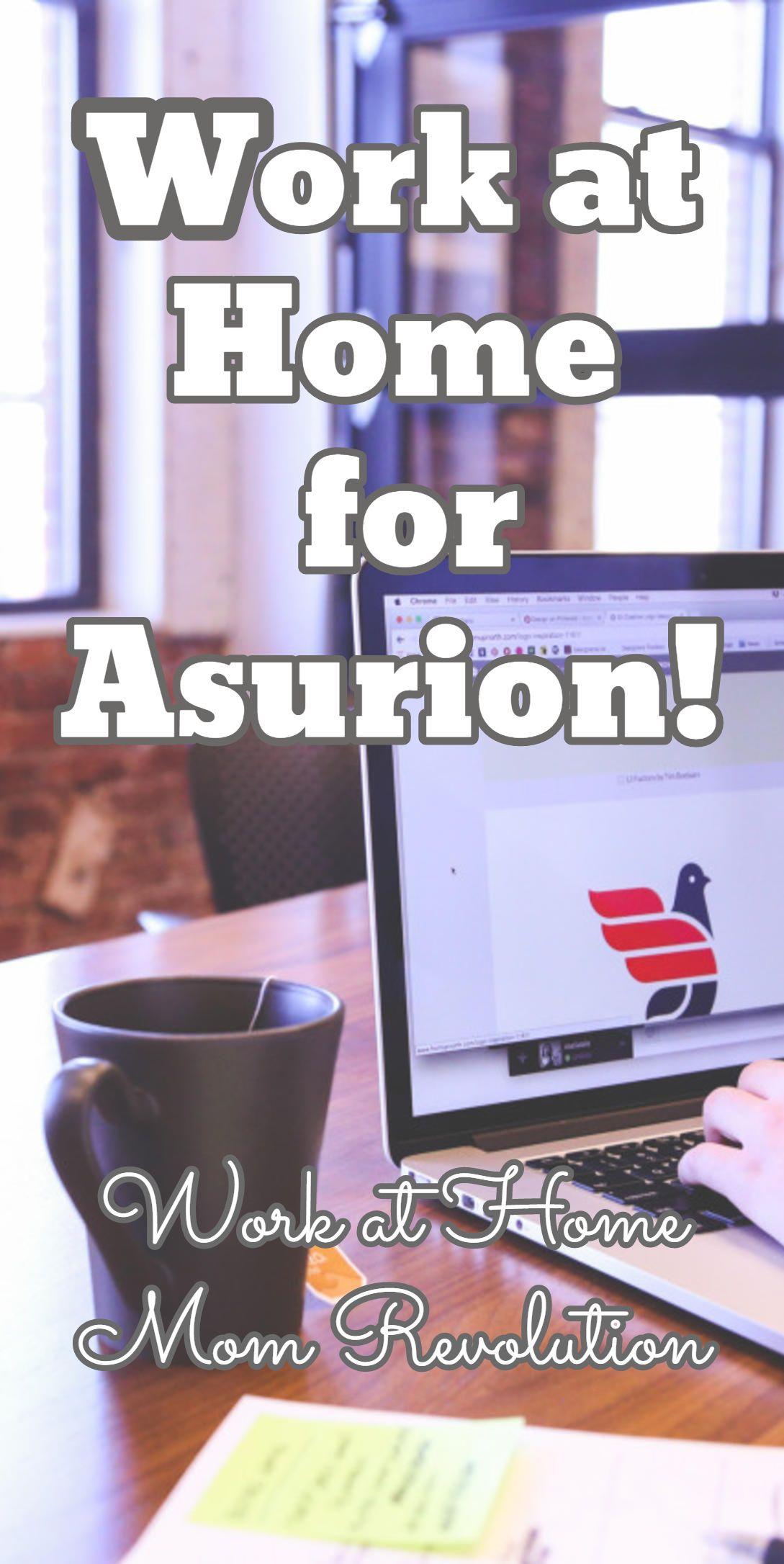 Work at Home for Asurion! / Work at Home Mom Revolution