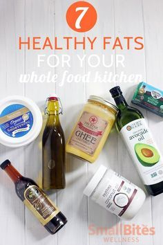 Not sure which good fats to keep in your kitchen? This list of healthy fats will help you build a nutrient rich, whole food kitchen.