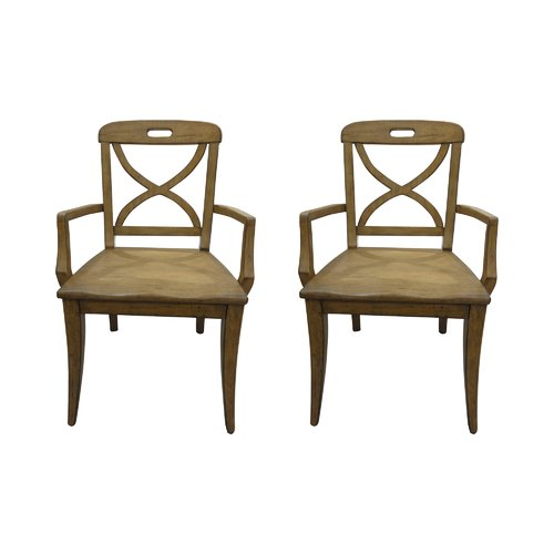 August Grove Middlebury Dining Room Chair Solid Wood Dining Chairs Dining Arm Chair Dining Room Chairs
