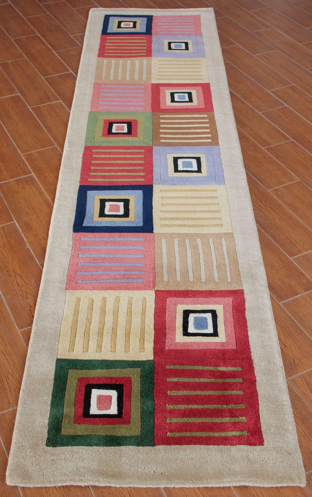 Para el pasillo karisma 01 alfombra de lana 100 for Alfombras para pasillos