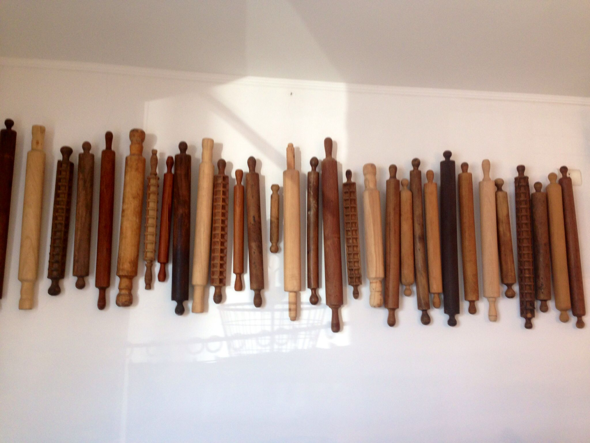 Decorating a wall with rolling pins decoration pinterest decorating a wall with rolling pins amipublicfo Choice Image