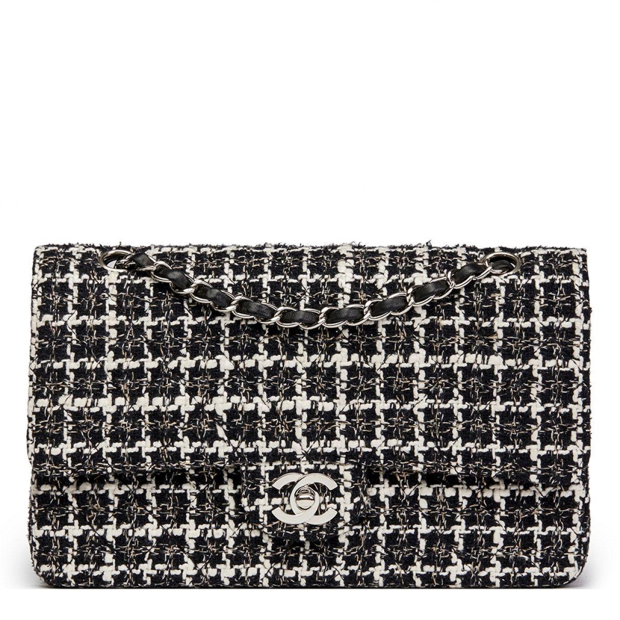 b9ddb7d73ccc CHANEL Timeless tweed handbag   Bag Lady   Sac chanel, Sac à Main ...