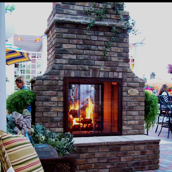 hoing fireplace project | double glass doors, fireplace design and ... - Patio Fireplace Designs