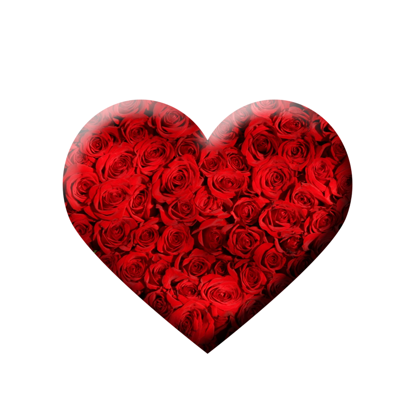 Free download stylish 3d heart png transparent background