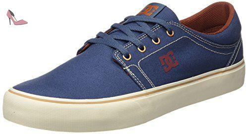 DC Shoes Trase TX M, Sneakers Basses Homme, Gris (Grey/Blue), 41 EU