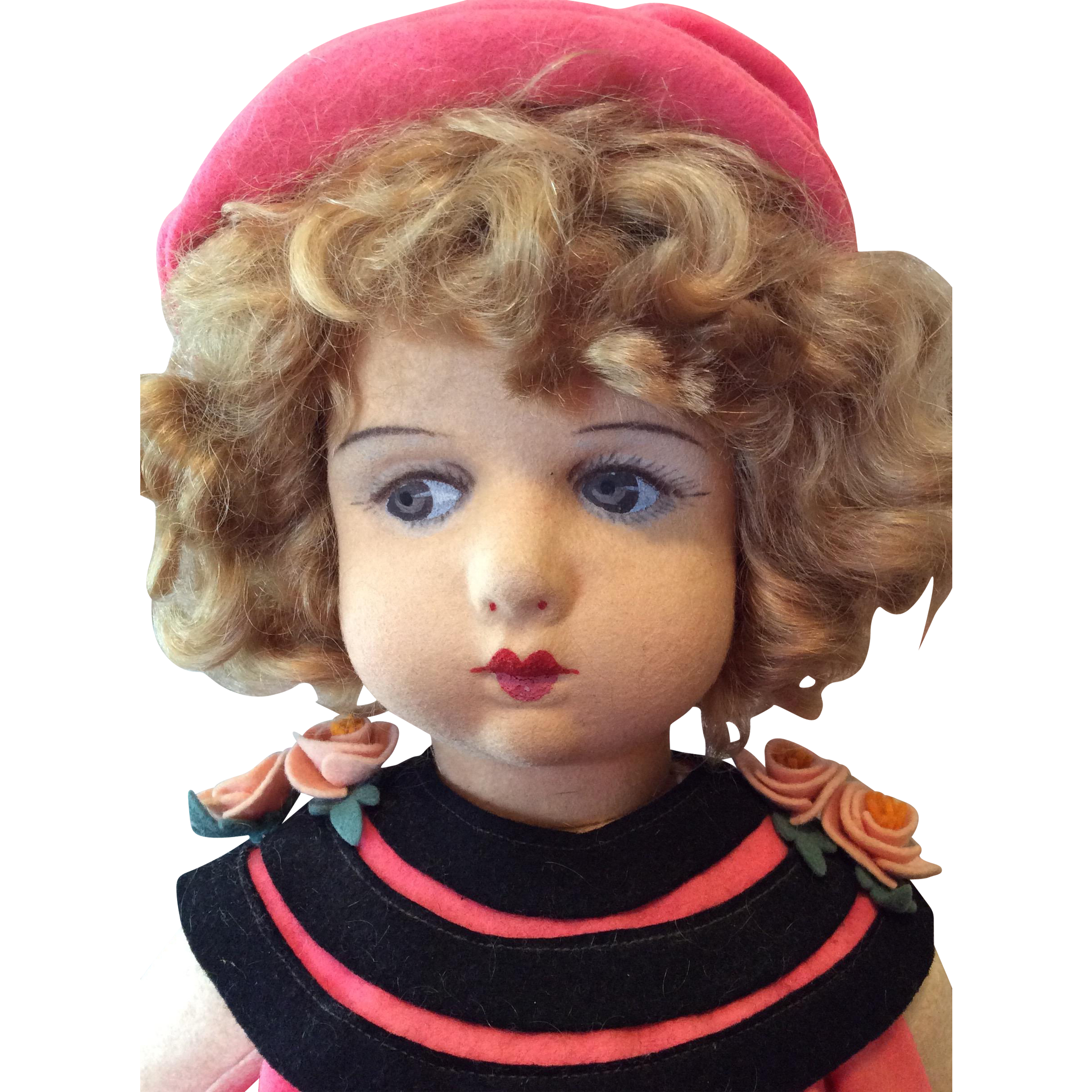 Very Rare Margot Doll of Torino, Italy