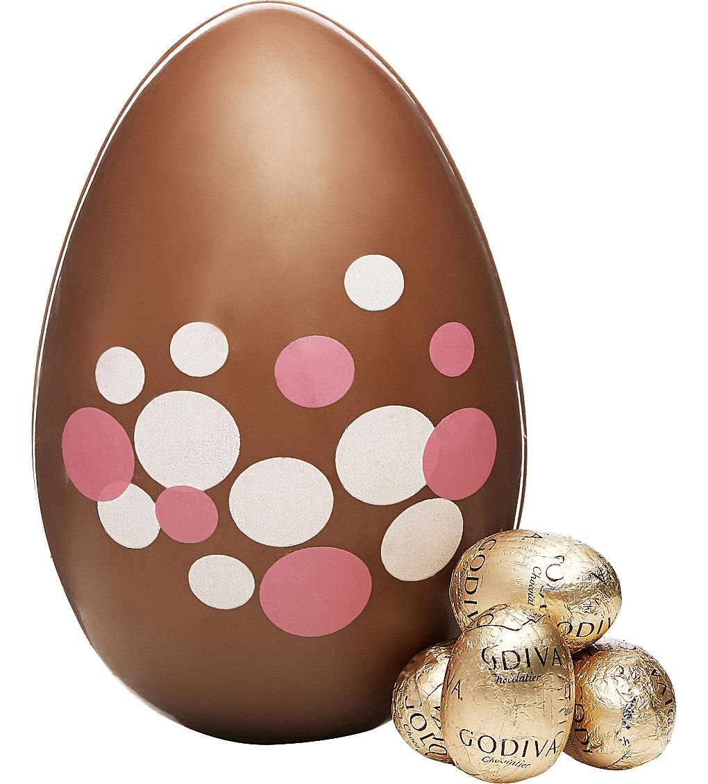 Godiva milk chocolate easter egg with small eggs inspireme easter godiva milk chocolate easter egg with small eggs negle Image collections